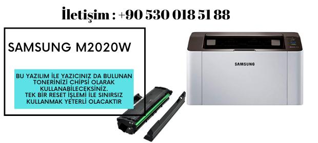 Samsung M2020w Yazıcı Resetleme