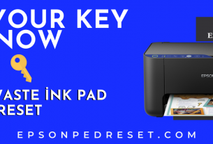 Epson Waste Ink Pad Counter Reset